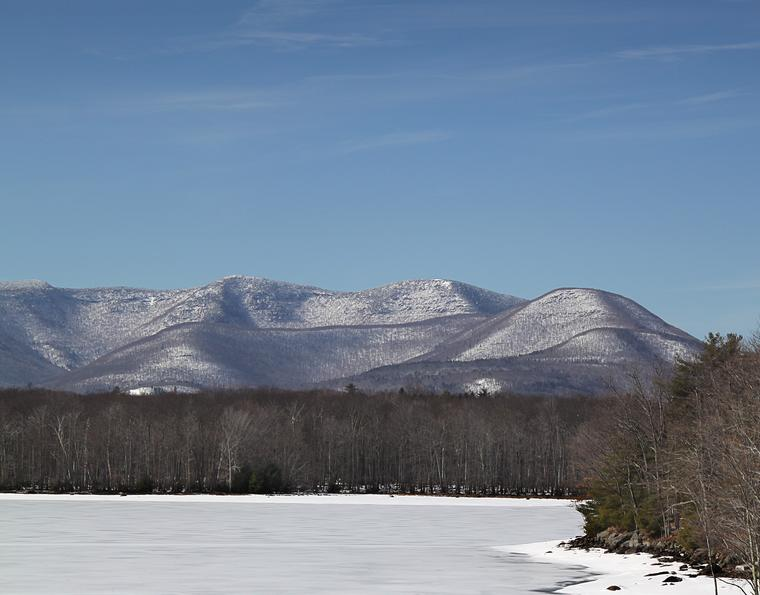 Catskill Winter photo