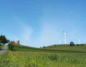 """Windmills of Madison County"" image"