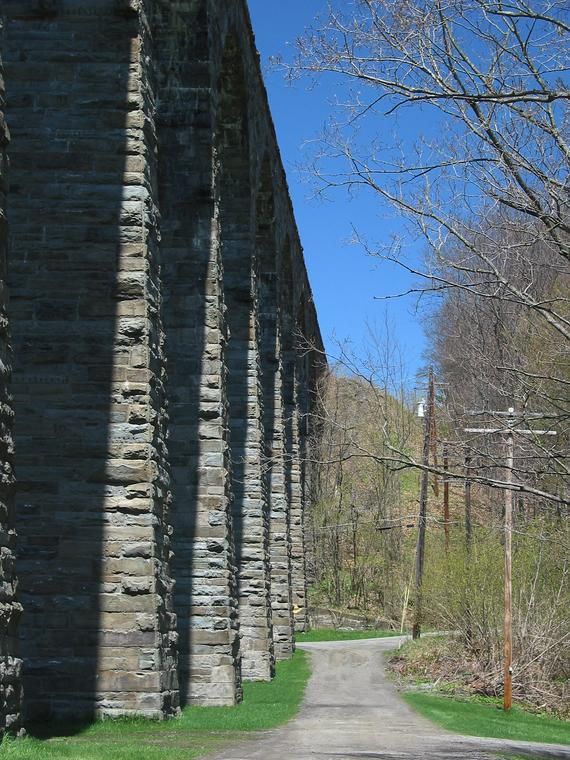 Viaduct from SE (Spring) photo