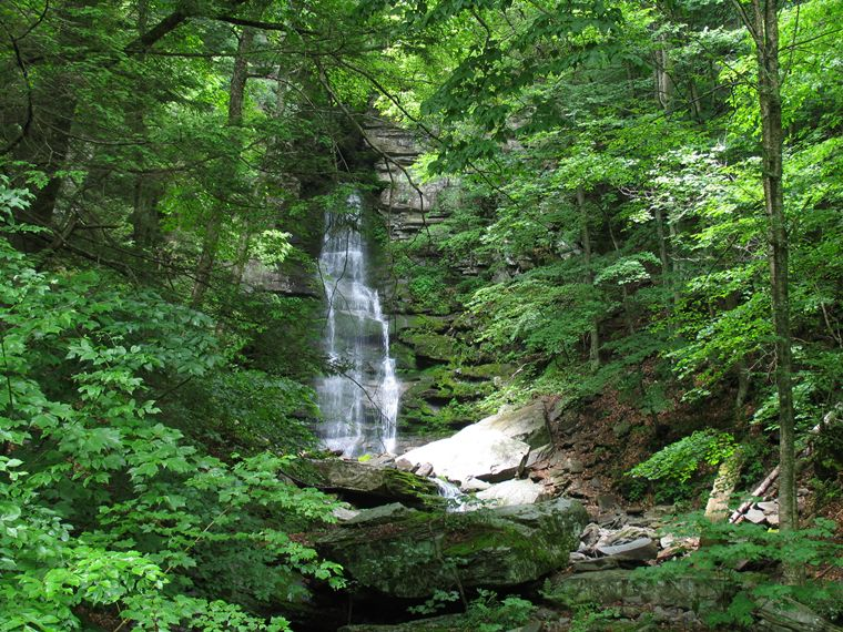 Buttermilk Falls (6/05) photo