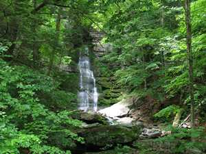 """Buttermilk Falls (6/05)"""