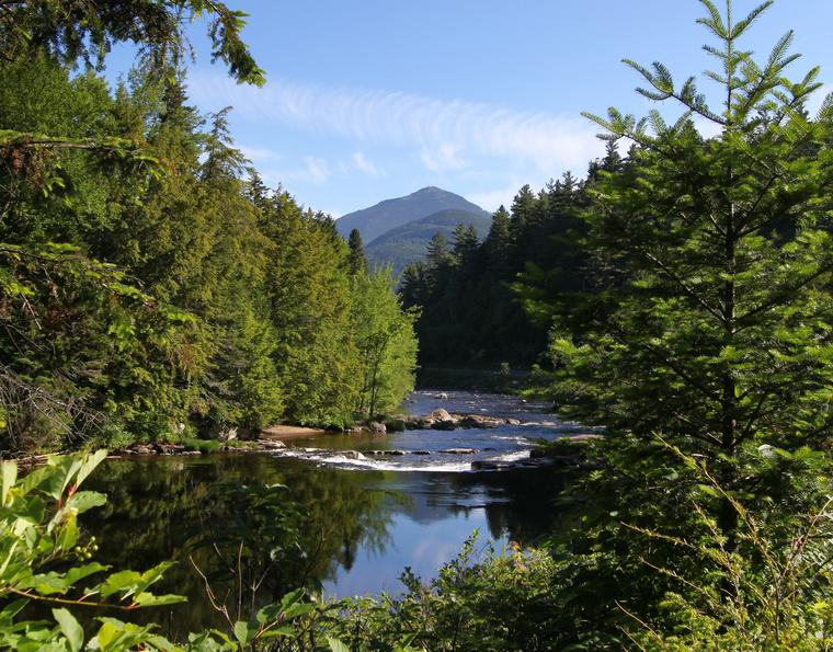 Whiteface from Ausable photo