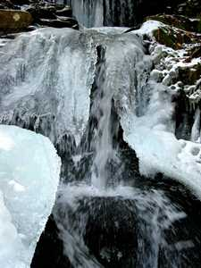 """Icy Cascade"" image"