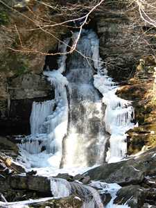 """Buttermilk Falls (2/06)"""