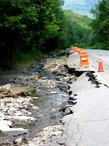 """Storm Damage on rte. 206"" image"