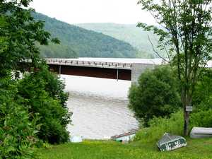 """Pepacton Bridge Fishing Access"" image"