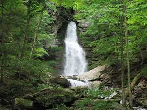 """Buttermilk Falls (6/06)"""