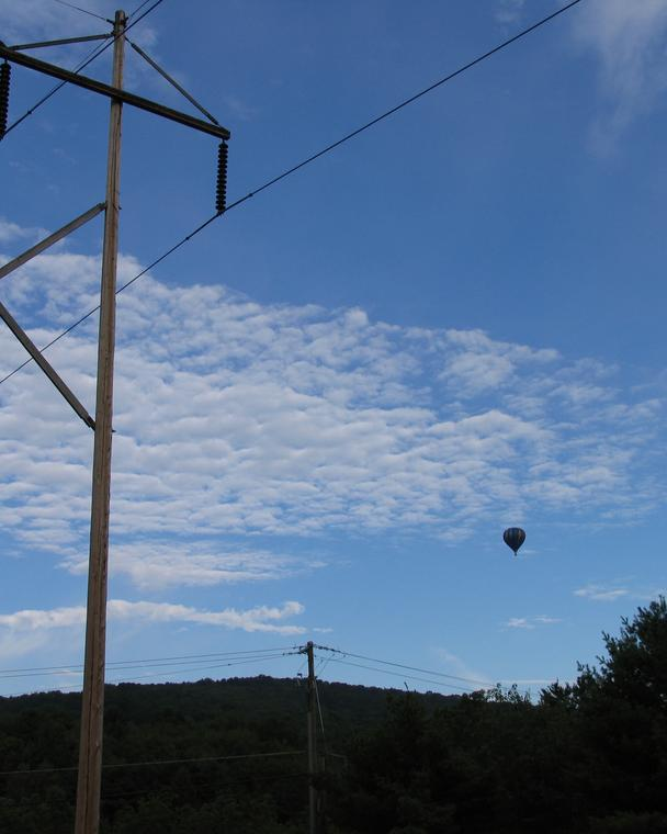 Balloon and Wires photo
