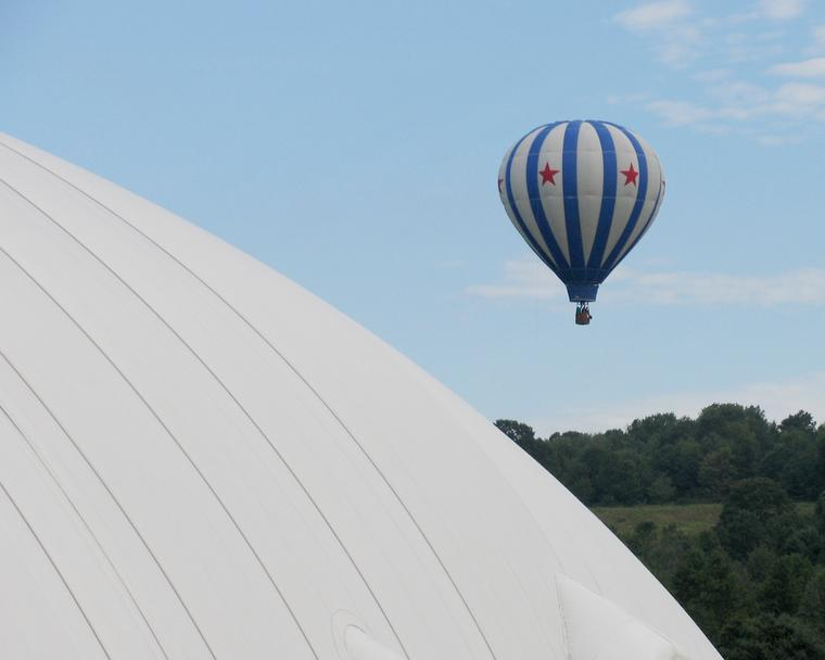 Balloon and Dome I photo