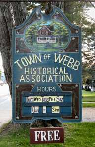 """Historical Association Sign"" image"