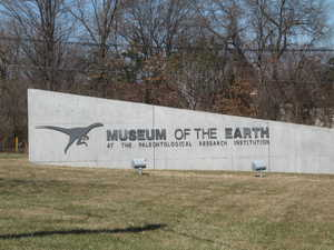 """Museum of the Earth sign"""