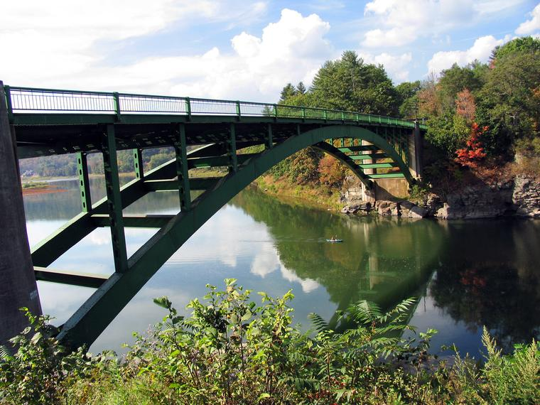 Picturesque Narrowsburg Bridge photo