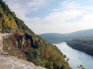 """High above the Delaware"""