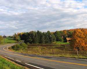 """Autumn on Nanticoke Road"""