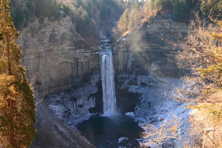 Taughannock with Ice photo