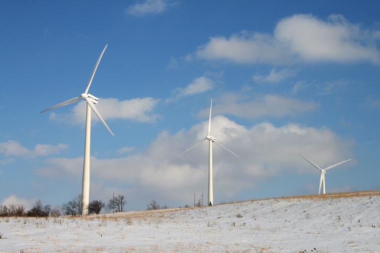 Madison County Wind Farm photo