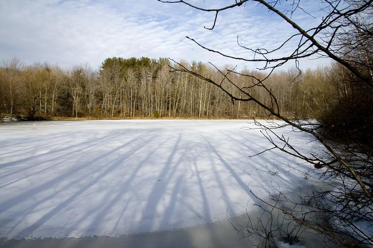 Frozen Lake Inferior photo