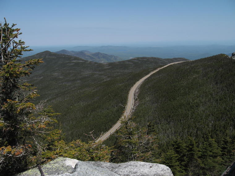 Whiteface Road from Stop 9 photo