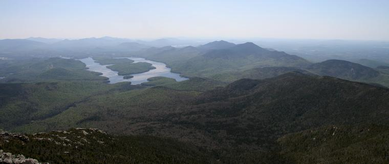 Lake Placid from Whiteface photo