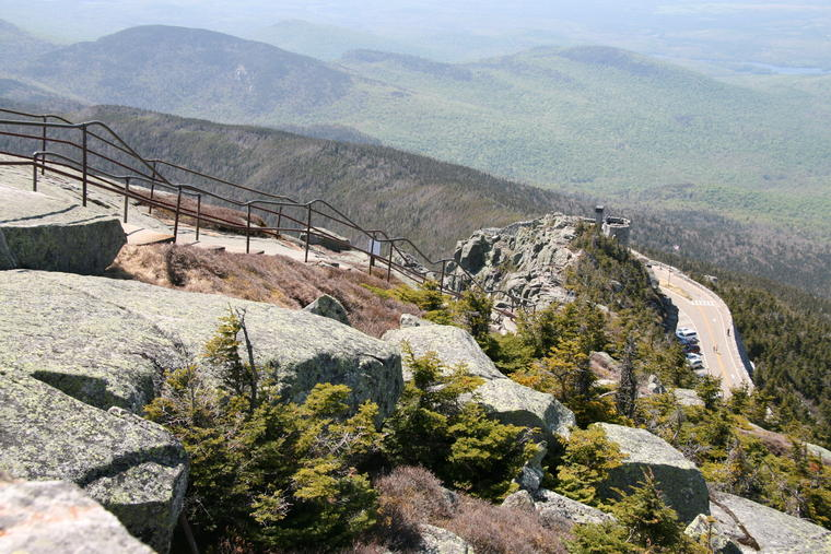 Trail from Whiteface Summit photo