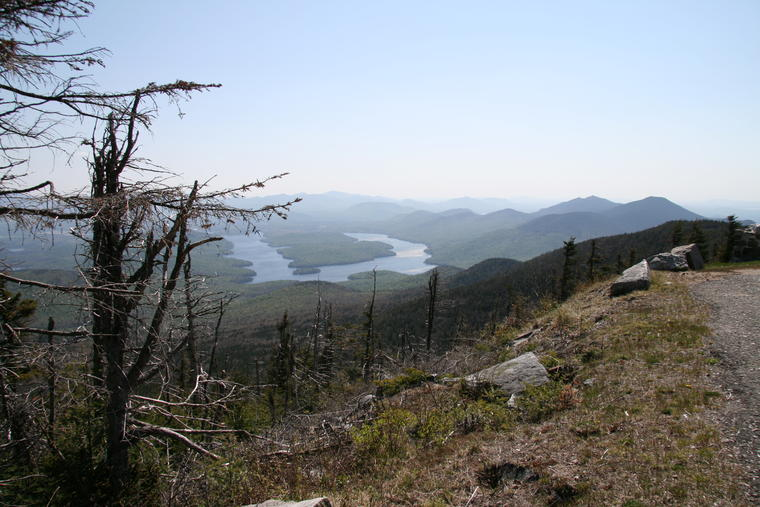 Lake Placid from Hairpin photo