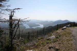 """Lake Placid from Hairpin"" image"