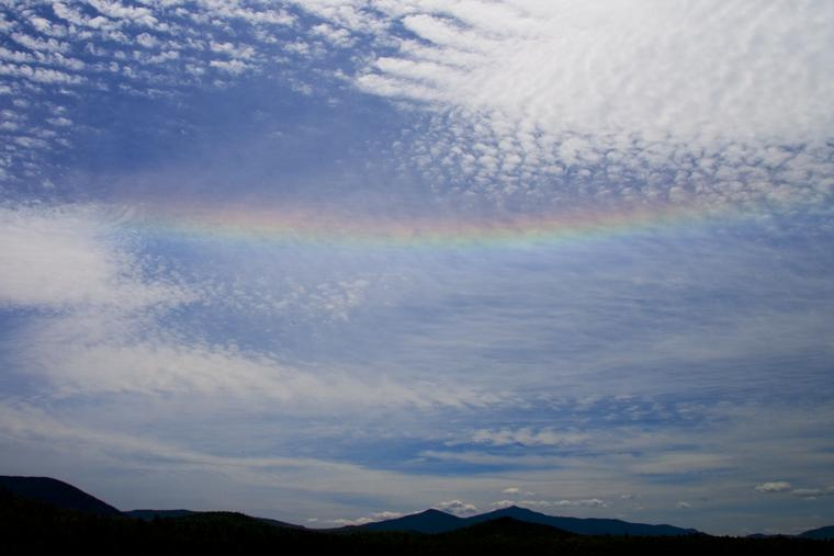 Fire Rainbow over Whiteface photo