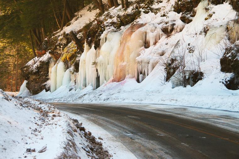 Catskill Ice photo