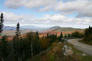 """Autumn Foliage from Whiteface"" image"