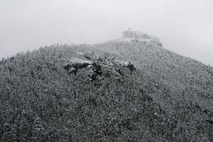 """Snow-shrouded Summit Castle"""