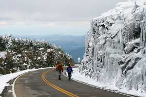 """Hikers on Whiteface"""