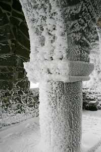 """Snow-crusted Pillar"" image"