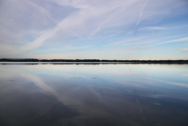 Morning Calm on Cayuga Lake photo