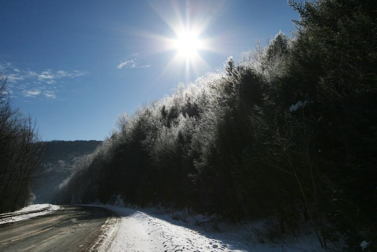 Sun and Frost photo
