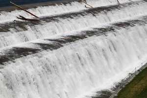 """Neversink Spillway Up Close"" image"