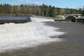 """Ashokan Spillway at High Water"""