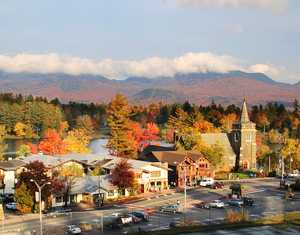 """Lake Placid Autumn"""